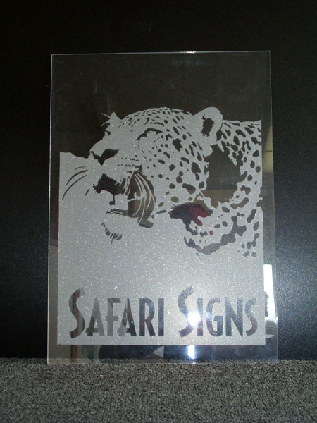Safari Signs Portfolio